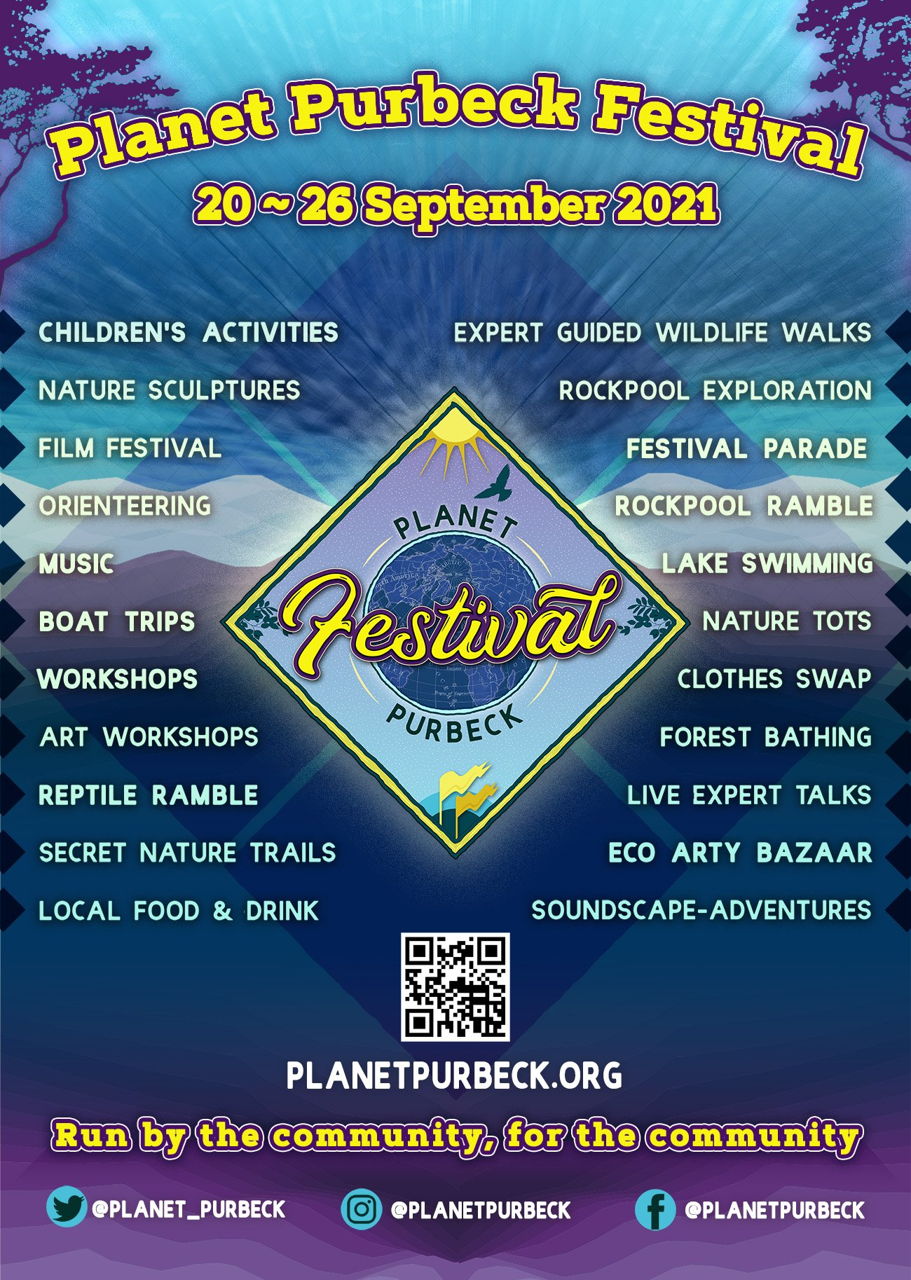 Planet Purbeck Poster