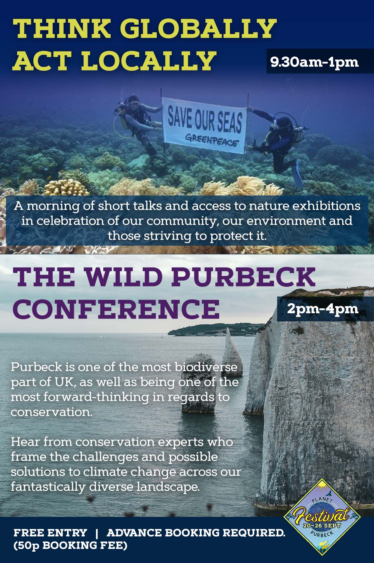 Acting Locally & Thinking Globally Planet Purbeck Event