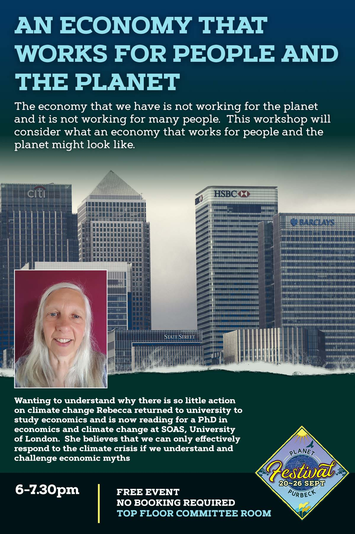 An economy that works for people and the planet Planet Purbeck Event